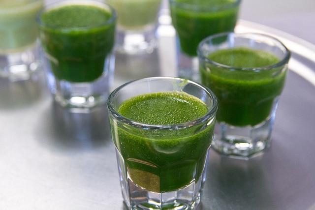 zelený ječmen