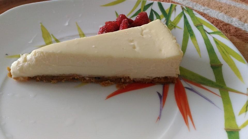 Fitness dort cheesecake vločky