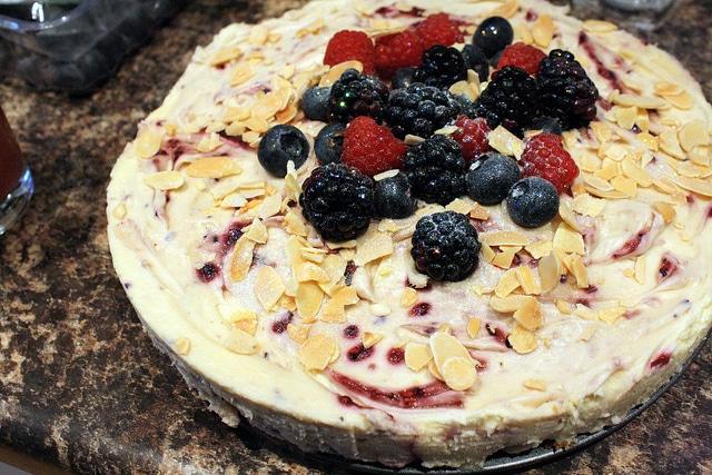 Fitness dort ovoce