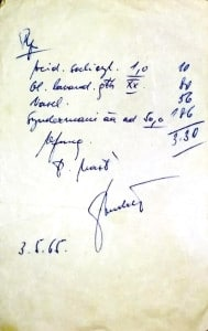 Ondřejova mast Predpis 1965