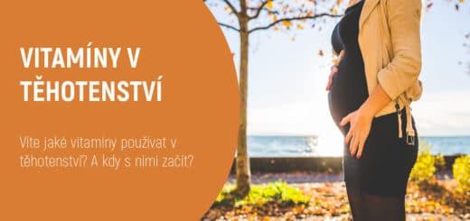 vitamíny v těhotenství